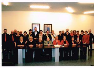 KPZ - 75 jaar - ontvangst op het gemeentehuis Deerlijk